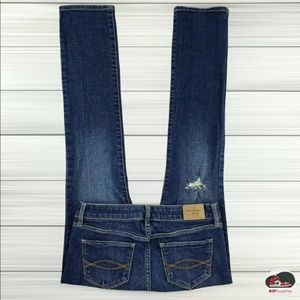 Abercrombie & Fitch A&F Skinny Distressed Jeans